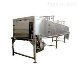 1100众惠隧道式喷淋酱菜低温杀菌机