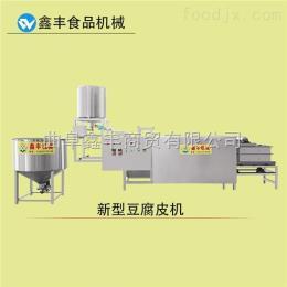 xf-11濮陽自動豆腐皮機生產線 家庭用小型千張機