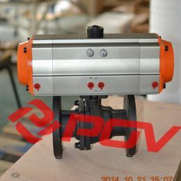 Q641X二段式气动球阀