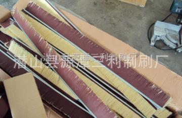 三利密封不銹鋼絲刷-環保設備水處理不銹鋼絲刷