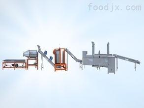 可定制1000眾惠油水混合油炸機/油炸生產線
