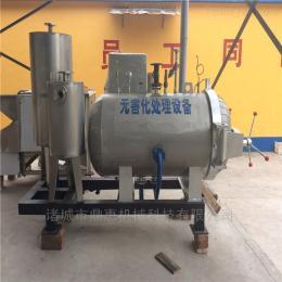 1022死豬濕化機價格,通遼養殖場高溫化制機