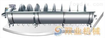 1SY-LY系列不銹鋼螺旋預冷機、雞精脫毛機設備