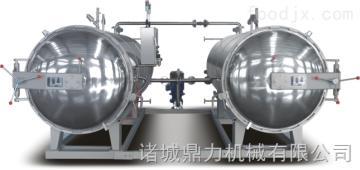 DL1236不銹鋼雙鍋并聯高效肉制品專用殺菌鍋