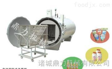 DL12242鼎力新品小型不銹鋼半自動電氣兩用蒸汽,噴淋,水浴,熱循環殺菌鍋