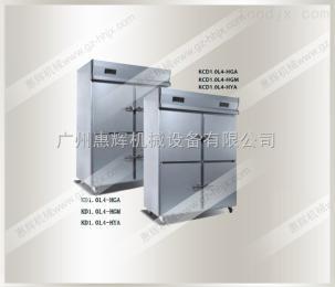 HH-KD0.5L2-HGA立式直冷封闭门厨房柜-横拉手