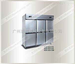 HH-KD1.6L6-CYA立式直冷封闭门厨房柜