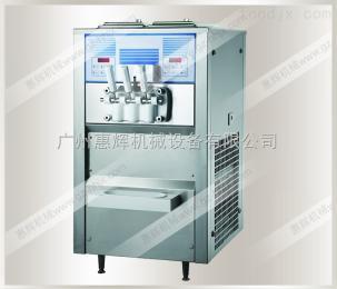 HH-248AHH-248A雙色三頭臺式風冷不銹鋼(膨化泵)軟冰淇淋機