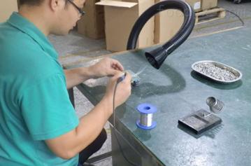 多工位烟尘净化处理防爆除尘器焚烧炉烟尘处理