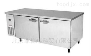 北京北京厨房冷冻操作台|双门卧式冷藏柜