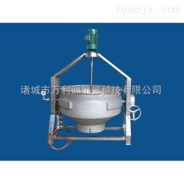 生产不锈钢蒸汽夹层锅/夹层锅厂家/北京夹层锅
