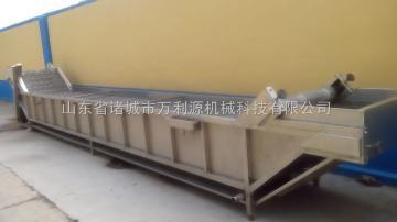 冷却机_玉米漂烫流水线设备_常温冷却线