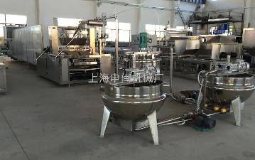 SMR150/300/450/600凝胶软糖明胶橡皮糖软糖生产设备浇注成型机