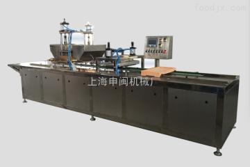 SMD600/800半自动淀粉模软糖橡皮糖麦丽素成型机生产线