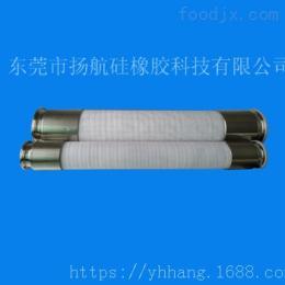 YH-650V60410025316不锈钢接头硅胶管,夹布钢丝硅胶管
