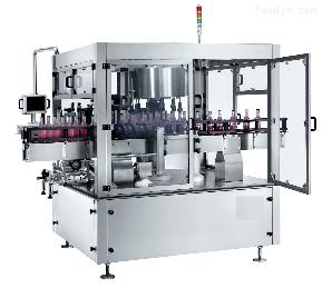 YQ9000全自动不干胶回转式定位贴标机