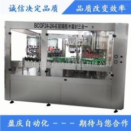 YQ-BCGF-24-24-8玻璃瓶饮料三合一灌装机