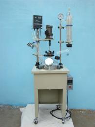单层玻璃反应釜 巩义予华仪器生产的食品机械YDF系列,厂家直销,质优价廉