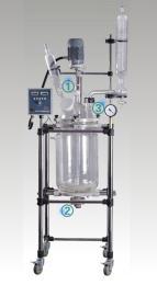 巩义予华仪器双层玻璃反应釜YSF系列变频调速,安全可靠