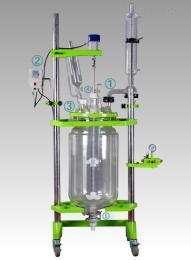 鞏義予華儀器雙層玻璃反應釜YSF變頻調,安全可靠