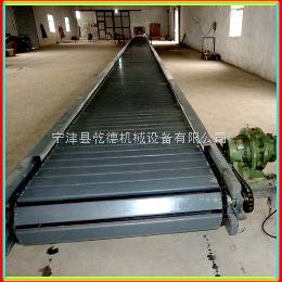 加長型輸送機直行輸送加長型不銹鋼鏈板輸送機