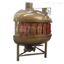 ufo半圓無煙炭火烤魚爐設備8分鐘同時烤出6條魚