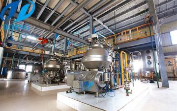 茶籽油精煉油設備