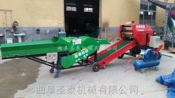 ST5552A玉米秸稈青儲機 圓捆包膜機廠家