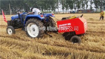 ST50*80圣泰機械收割小麥秸稈撿拾打捆機 捆草機