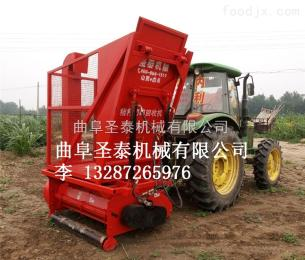 ST-1500玉米秸稈回收機視頻 秸稈粉碎收集機廠家