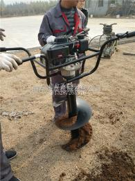 ST-W1果树挖坑机视频 果园施肥挖坑机
