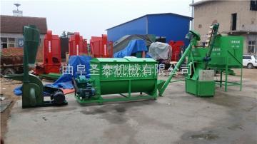 9KHL-250圣泰牌多用途飼料顆粒加工機組價格
