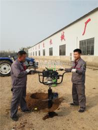 ST-W1植树挖坑机报价 螺旋挖坑机厂家