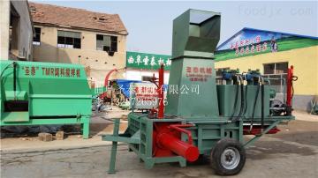 ZYD-160玉米秸秆压块饲料设备 青贮秸秆打包机直销