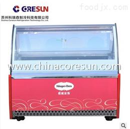 透明8桶台式商用冰淇淋展示柜