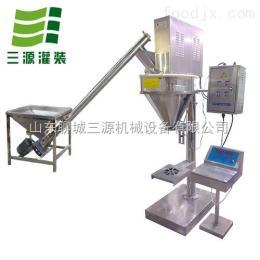 SY-BZJ04半自动粉末包装机 自动面粉灌装机 粉末下料螺杆机厂家