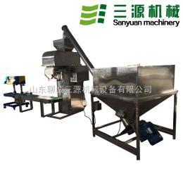 山东SY-BZC01全不锈钢自动粉末包装秤 面粉包装机 粉剂包装机