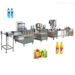中小型果蔬汁饮料生产线价格