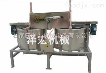 澤宏機械ZHTY-雙聯下卸料脫油機