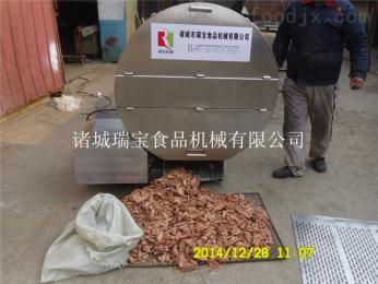 定制冻鱼盘破碎机型号  冻肉刨肉机 切块机厂家