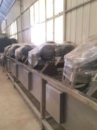 定制强流除水风干机   冷却风干流水线   供应软包装风干设备    果蔬清洗风干机