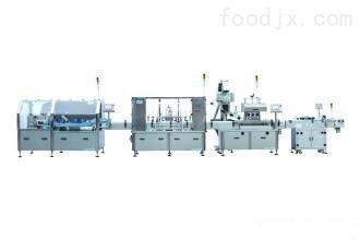 全自动灌装、旋盖、贴标、开箱、装箱、封箱、自动化流水生产线 操作简单安全