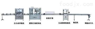 赤壁全自动食用油灌装生产线 灌装精度高无滴漏 厂家