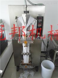 DXDY80E济南酱体包装机厂家  芝麻酱膏体包装机 济南<冠邦>品牌