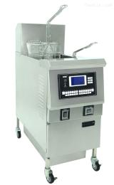 OFE-H321L新款电热开口升降式油炸锅 单缸单筛 (液晶电脑面板)