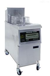 OFE-H321电热开口自动升降式油炸锅 单缸单筛(电脑面板)