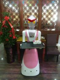 餐廳機器人催師傅送餐機器人廠家