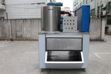 1500公斤肉食丸子加工降温片冰机