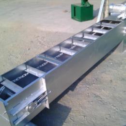 刮板输送机不锈钢刮板输送机规格来图生产 灰粉刮板机