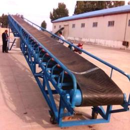 XY長距離粉料皮帶輸送機 人字形皮帶輸送機